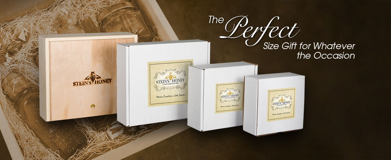 Stein's Honey Gift Set Available in a Variety of Sizes